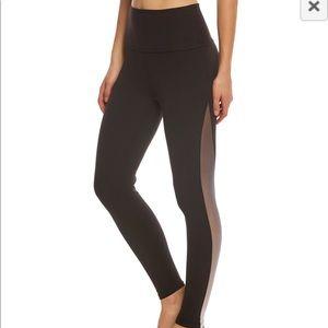 Beyond Yoga ombré mesh yoga high waist leggings SM